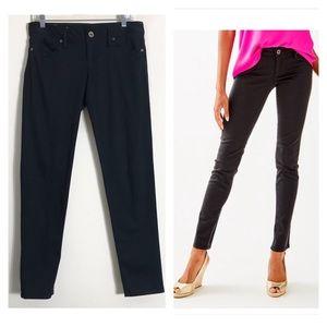 Lilly Pulitzer worth skinny sateen jeans black sz6
